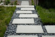 Modern Walk Garden Features, Water Features, Front Walkway, Driveway Pavers, Contemporary Garden Design, Black And White Background, Flower Landscape, Back Gardens, The Ranch