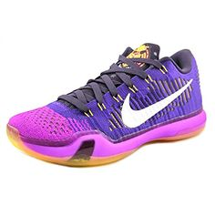 nike KOBE X ELITE LOW mens basketball trainers 747212 sneakers shoes US 13 court purple white vivid purple cave purple 515 ** Continue to the product at the image link.(This is an Amazon affiliate link)