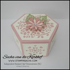 Stampin' Sacha - Stampin' Up! - Spring/Summer Catalogue - Window Box Thinlits - Stitched Shapes Framelits - Succulent Framelits - Stylish Stems Framelits - Window Box - #stampin_sacha - #stampinup - #giftbox