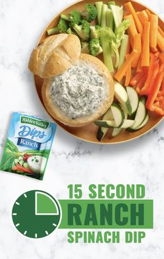 package frozen spinach chopped, thawed, well drained 1 container sour cream 1 can water chestnuts drained and chopped Original Ranch® (Dips) 1 packet Hidden Valley® Original Ranch® Dips Mix Appetizer Dips, Appetizer Recipes, Dip Recipes, Cooking Recipes, Frozen 1, Healthy Snacks, Healthy Recipes, Sauces, Food Videos