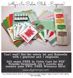 2015 In Color Club Express Stampin' Up!