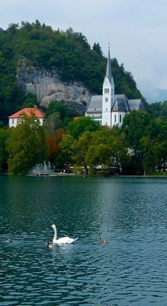 Lake Bled - Julian Alps, Slovenia | Flickr - Photo by lo.tangelini