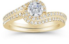 Looking for an affordable alternative to a diamond engagement ring or a unique twist that strays ever-so-slightly from tradition? Consider one of Apples of Swirl Engagement Rings, Cubic Zirconia Engagement Rings, Engagement Sets, Beautiful Engagement Rings, Engagement Ring Settings, Bridesmaid Jewelry Sets, Bridal Jewelry Sets, Bridal Sets, Wedding Jewelry