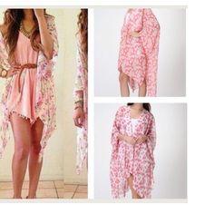 Kimono One Size Tops