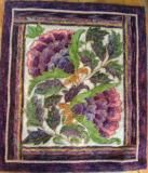Tropicana Small Hooked by Diane Stoffel Featured in Rug Hooking Magizine