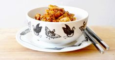 poulet1 Tea Cups, Good Food, Food And Drink, Dinner, Cooking, Tableware, Kitchen, Desserts, Wordpress