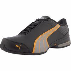77f97af0f3fea5 Puma - Men s Super Elevate Leather Training Shoes - Black Limestone