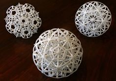 Expressing mathematics in 3D printed sculpture art