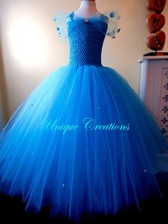 New Cinderella 2015 dress with butterflies and by uniquecreationsx