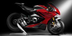 Ducati work in progress on Behance