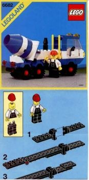 Thousands of complete step-by-step printable older LEGO® instructions for free. Here you can find step by step instructions for most LEGO® sets. Lego City Sets, Lego Sets, Cement Mixers, Vintage Lego, Lego Group, Lego Instructions, Catalogue, Legos, Planer