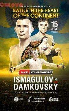 M-1 Challenge 94: Ismagulov vs. Damkovsky | FIGHT24.PL - MMA i K-1, UFC