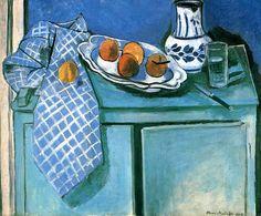 """Still Life with Green Sideboard"" 1928  Henri Matisse."