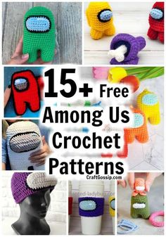 This round-up of free crochet patterns is for the new game Among us. I haven't played the game but I do know my children play it, and best of all they play it together which is a new concept for … Read More ... Crochet Stitches Free, Quick Crochet, Crochet Amigurumi Free Patterns, Knitting Charts, Crochet Blanket Patterns, Free Crochet, Crochet Gifts, Crochet Toys, Knit Crochet