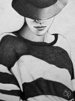 Stripes by EVanillaArt