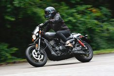 Now for 2017 Harley-Davidson has added a new offering to the Street platform, the 750cc 'Street Rod.'