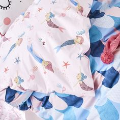 Mermaid Dreaming Quilt Cover Set