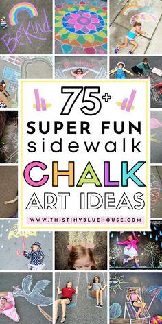 75 Super Fun Summer Sidewalk Chalk Art Ideas This Tiny Blue House Chalk Art art Blue Chalk chalk art Fun House Ideas Sidewalk Summer Super Tiny Drawing For Kids, Art For Kids, Sidewalk Chalk Art, Painting Competition, Summer Fun, Summer Days, Chalk It Up, Chalk Drawings, Fathers Day Crafts