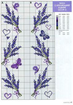 Lavender chart