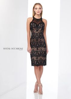 611a8e0413d Check out the deal on Social Occasions by Mon Cheri 218808 Lace Dress at French  Novelty