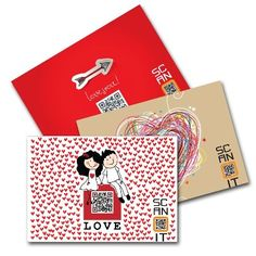 LOVE - LOVE - LOVE COMES FROM SCANIT GREETING CARDS