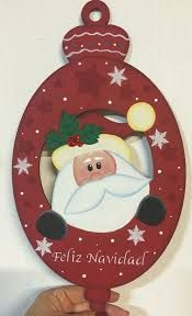 Resultado de imagen para artesanias navideñas en mdf #artesaniasenmadera