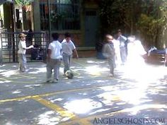Is this an angel of light on the kids' playground? Real Angels, Angels Among Us, Angels And Demons, Creepy Pictures, Angel Pictures, Angel Sightings, Angel Clouds, Creepy Ghost, Shadow People
