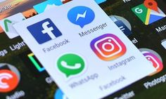 Facebook, Facebook Messenger, WhatsApp and Instagram app on Android