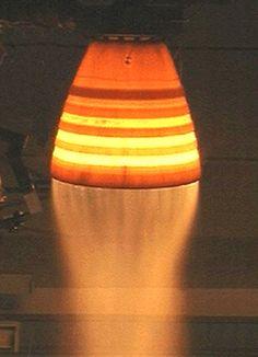 Space Shuttle Rocket Nozzle