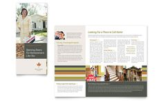 4 panel brochure template word