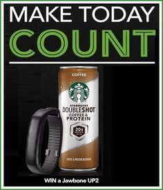 Starbucks Make Today Count Instant Win Game