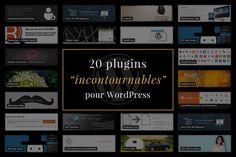 [REDIF] 20 plugins WordPress incontournables pour la création de sites internet http://www.gelas.pro/journal/web/plugins-wordpress-incontournables/