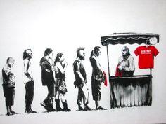 "Banksy: ""Destroy Capitalism"""
