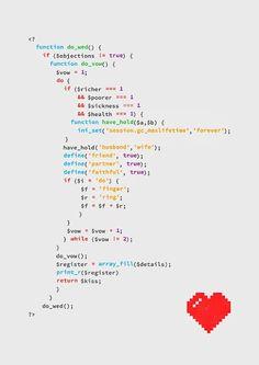 Een grappige romantische php string waarin staat hoe de stappen lopen naar trouwen toe. Ik vond dit wel grappig verwerkt en vond het toepasselijk aangezien het project gemaakt moest worden met php daarom in mijn dummy verwerkt