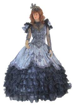 Gothic Wedding Dress Steampunk Vintage by CaughtMyEyeCandy on Etsy, $400.00