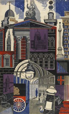 ART & ARTISTS: Edward Bawden - part 3