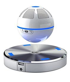 Wait...a levitating ball that plays music wirelessly via Bluetooth and sounds great? No way! Yes way. Yes.Way.Cool. Top of the gift list this year! And at such a low price, buy one for yourself too!