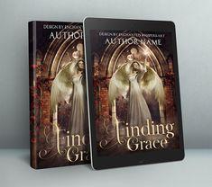 fantasy Angel premade cover design for ebook or paperback Premade Book Covers, Cover Design, Angel, Fantasy, Books, Prints, Art, Art Background, Libros
