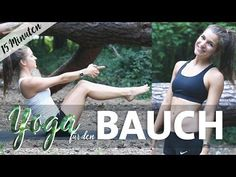 Yoga Bauch Workout Intensiv | 15 Minuten Core & Abs für einen straffen Bauch - YouTube