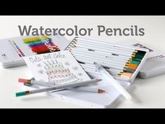 Card Making and Paper Crafting How To: Watercolor Pencils - YouTube