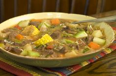 Caldo de Res Mexican Beef Soup Low Calorie Recipe: Caldo de Res (Mexican Beef Soup)