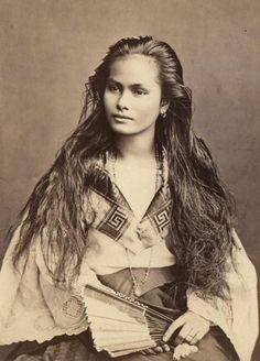 The picture shows a Head-and-shoulders portrait of this Beautiful Native American woman, facing left This Woman of the Desert has striking eyes, and is not smiking, but appears happy. Description from pinterest.com. I searched for this on bing.com/images