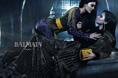 Kendall and Kylie Jenner Star in New Balmain Fashion Campaign