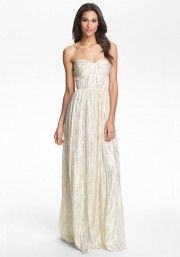 Wish I could wear strapless! Free People metallic_dress