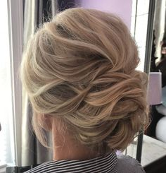 Low Dimensional Bouffant Updo #weddinghairstyles
