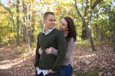 Fall engagement photos in Annapolis, Maryland at Quiet Waters Park photographed by Maryland wedding photographer Christa Rae Photography