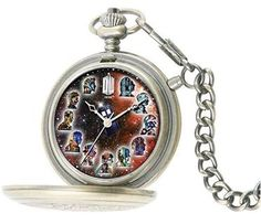 "Doctor who fob watch!! I so want this so I can say something like ""It's half past Tennant, quarter to smith."""