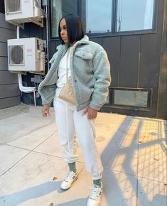 Bad Girl Outfits, Dope Outfits, Stylish Outfits, Fashion Outfits, Girls Winter Fashion, Autumn Winter Fashion, I Love Fashion, Women's Fashion, Simple Fall Outfits