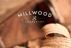Professional Logo Design for bespoke carpentry startup business 'Millwood… Youtube Woodworking, Woodworking Logo, Woodworking Ideas, Brand Identity, Logo Branding, Branding Design, Business Logo, Business Design, Lab Logo