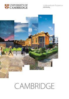 Cambridge University Undergraduate Prospectus 2014